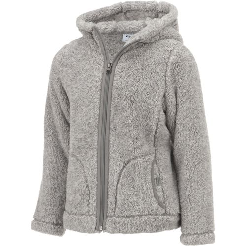 Magellan Outdoors Girls' Teddy Bear Fleece Jacket - view number 3