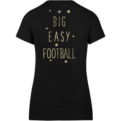 '47 New Orleans Saints Women's MVP Splitter Scoop Neck T-shirt