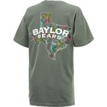 New World Graphics Women's Baylor University Comfort Color Puff Arch T-shirt - view number 2