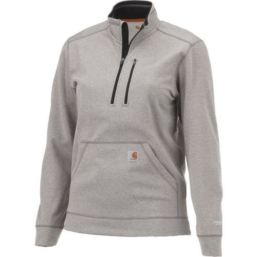 Carhartt Men's Force Extremes Mock Neck 1/2 Zip Sweatshirt - view number 3
