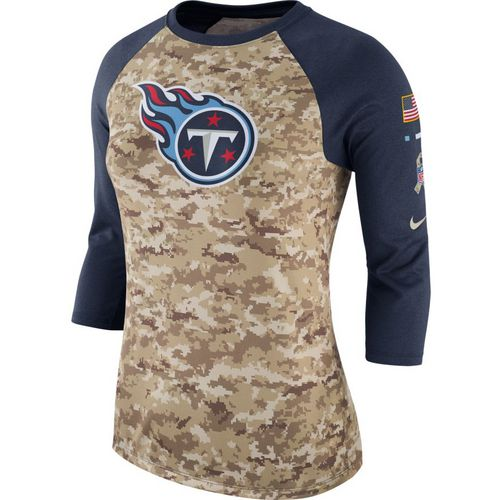Nike Women's Tennessee Titans Salute to Service '17 Legend Raglan T-shirt