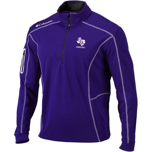Columbia Sportswear Men's Stephen F. Austin State University Shotgun 1/4 Zip Pullover