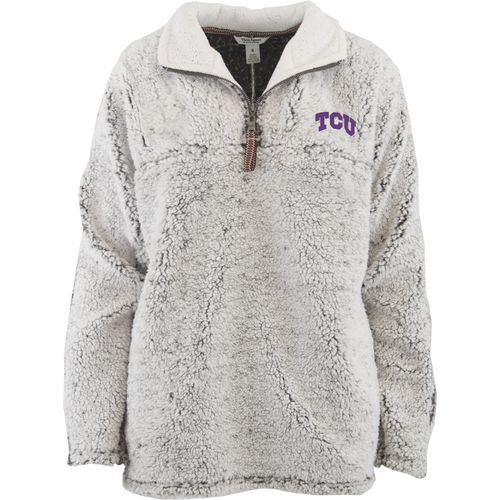Three Squared Juniors' Texas Christian University Poodle Pullover Jacket