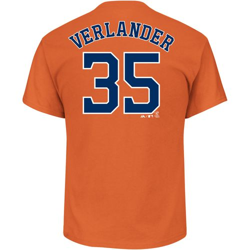 Majestic Men's Astros Verlander Official Name & Number T-Shirt