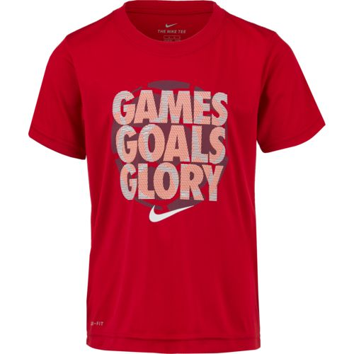 Nike Boys' Games Goal Glory Short Sleeve T-shirt - view number 1