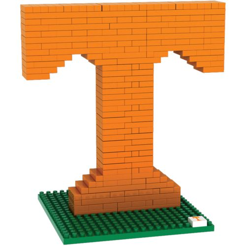 Forever Collectibles University of Tennessee 3-D BRXLZ Logo Puzzle
