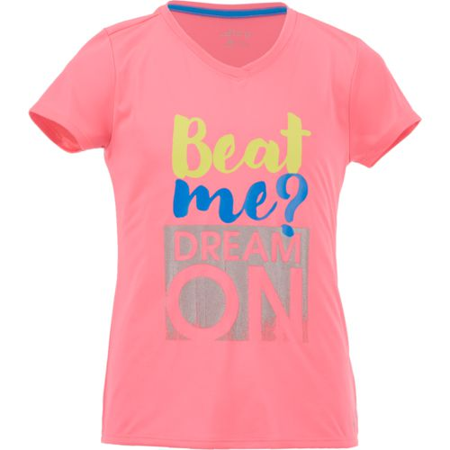 BCG Girls' Beat Me Dream On Short Sleeve T-shirt