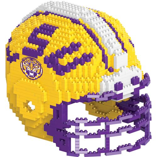 Forever Collectibles Louisiana State University BRXLZ 3-D Mini Helmet Puzzle