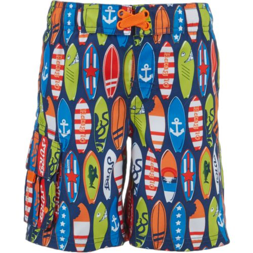O'Rageous Boys' Surfboard Printed Boardshorts