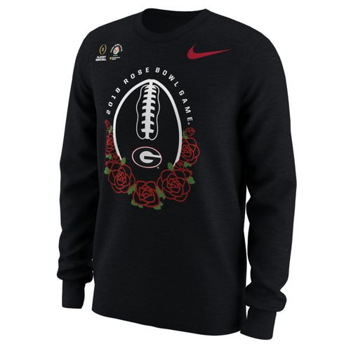 Nike Men's University of Georgia Rose Bowl Bound Illustrated Long Sleeve T-Shirt
