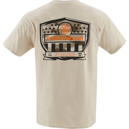 Smith & Wesson Men's Tech Revolution Stars & Stripes Shield T-shirt - view number 3