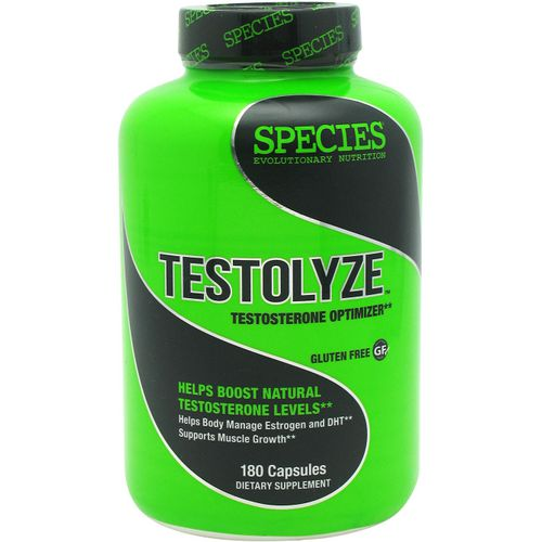 Species Nutrition Testolyze Testosterone Optimizer Capsules