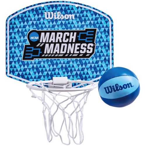 Wilson NCAA March Madness Mini Basketball Hoop Set