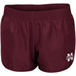 Colosseum Athletics Women's Mississippi State University Reflective Logo Shorts - view number 1