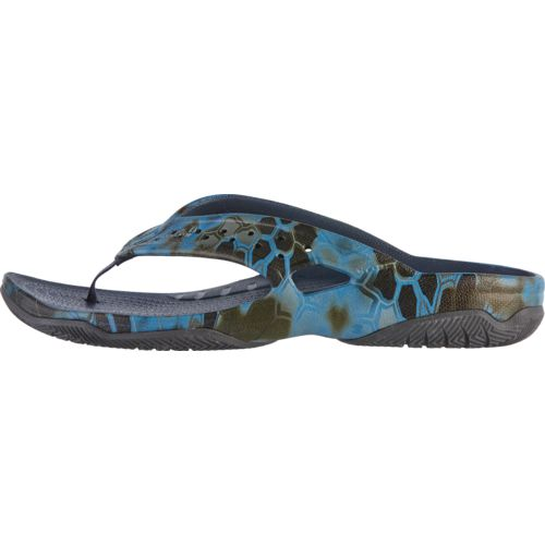 Crocs Men's Swiftwater Kryptek Neptune Deck Flip Flops