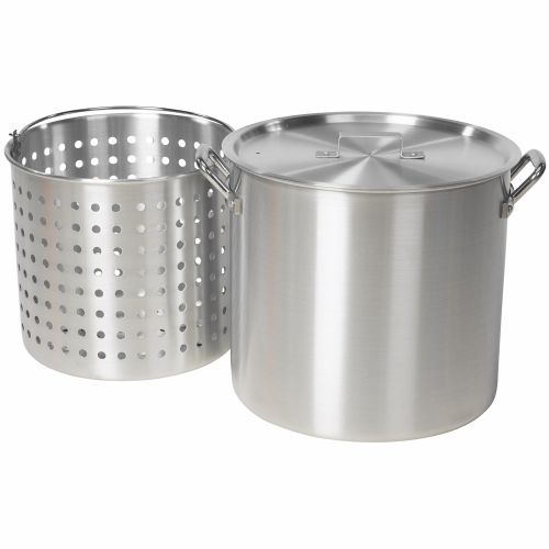 Outdoor Gourmet 42 qt. Aluminum Pot with Strainer