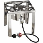 Outdoor Gourmet Stainless Steel Fryer Stand