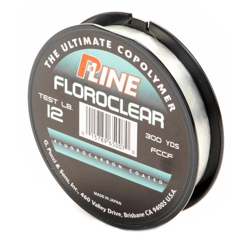 P line floroclear 12 lb 300 yards fluorocarbon fishing for Pline fishing line