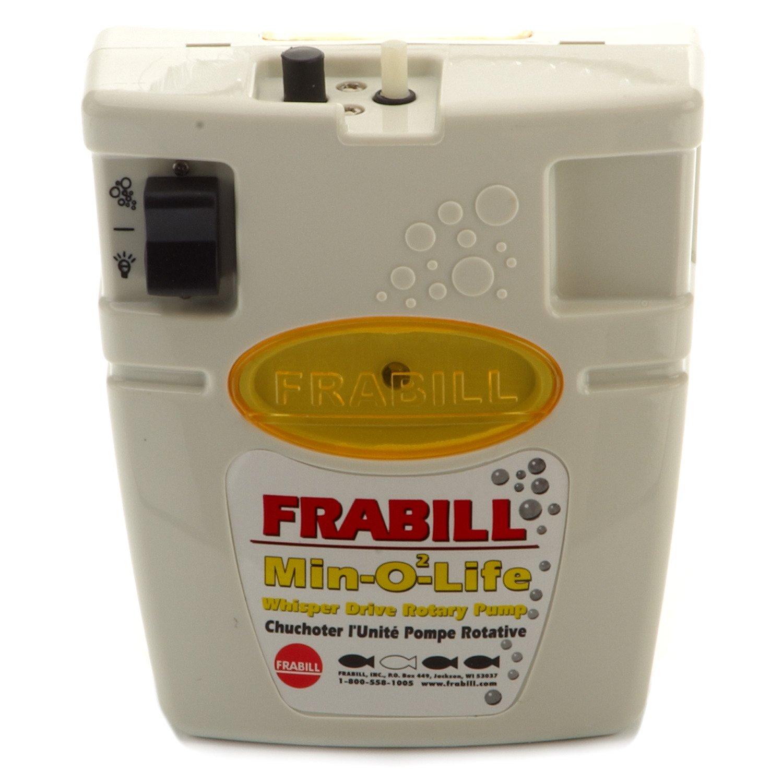 Frabill Min-02-Life 6-Gallon Portable Aerator