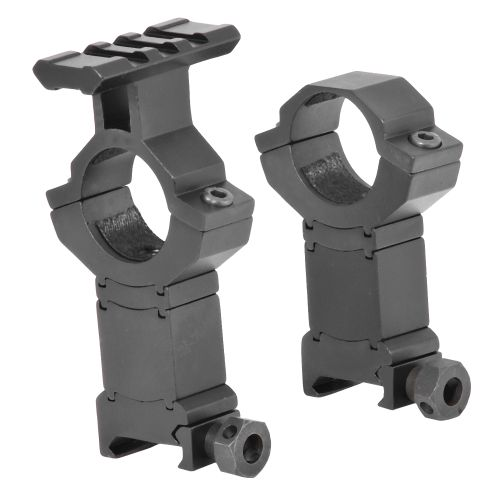 Image for BSA STS Tactical Weaver-Style Ring Mounts from Academy