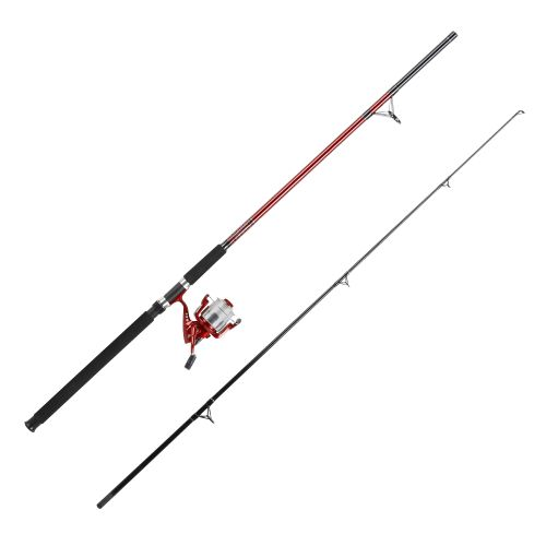 Pinnacle red metal 10 39 saltwater bigwater spinning rod and for Surf fishing rods and reel combos