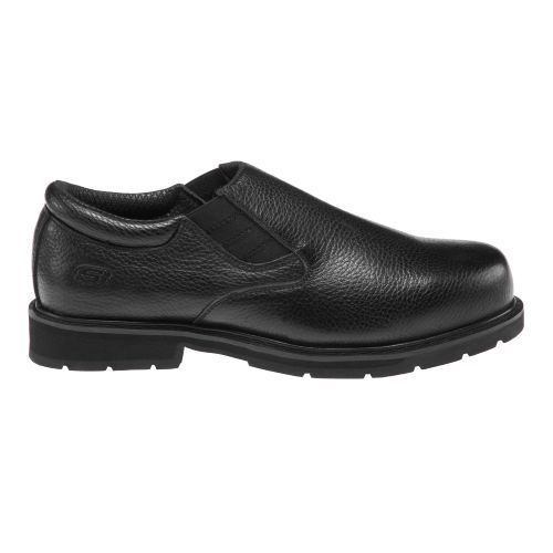 SKECHERS Men's Exalt Closer Slip-Resistant Work Shoes