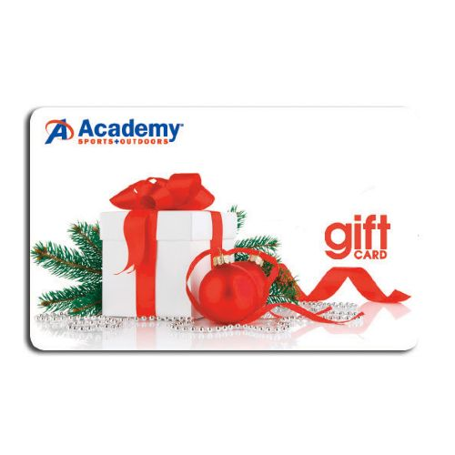 Academy Holiday Gift Card -Christmas Present Design