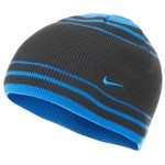 Nike Kids' Striped Rib Knit Beanie