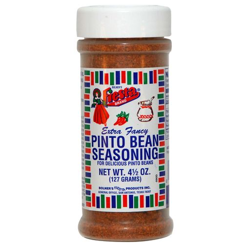 Bolner Fiesta 4.5 oz. Pinto Bean Seasoning