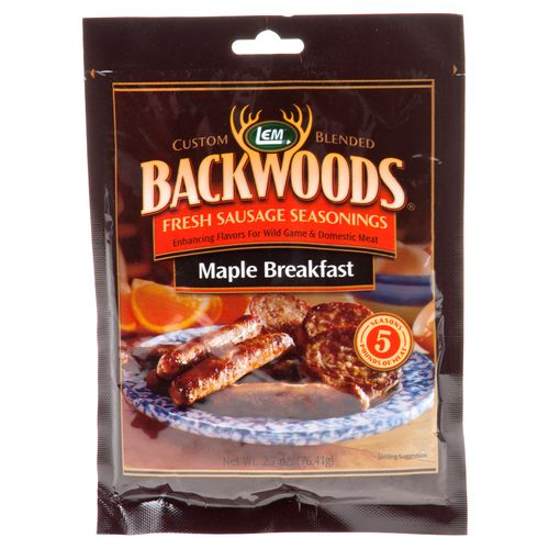 Display product reviews for LEM Backwoods Fresh Maple Breakfast Sausage Seasoning