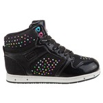 Pastry Kids Girls' Glam Pie Galactica Fashion High-Top Athletic Lifestyle Shoes