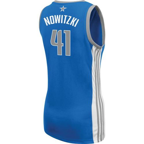 adidas™ Women's Dirk Nowitzki Dallas Mavericks Road Jersey - view number 2