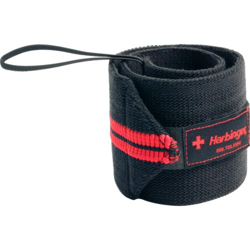 Harbinger Adults' HumanX Red Line Wrist Wraps 2-Pack