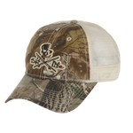 Salt Life Men's Skull and Poles Camo Hat