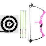 Outdoor Hunter Pink Compound Bow Set