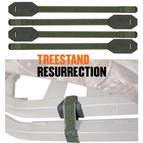 Cottonwood Outdoors Treestand Resurrection Weathershield LOK Down Straps 4-Pack