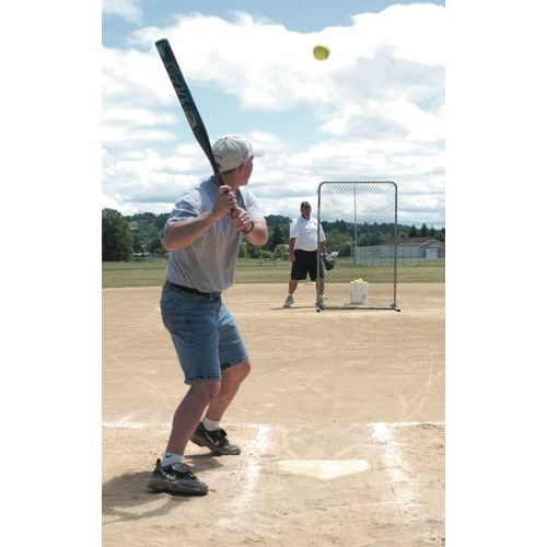 JUGS Travel Ball Quick-Snap® 6.5' x 4' Lite-Flite®/Slow-Pitch Softball Pitching Sc