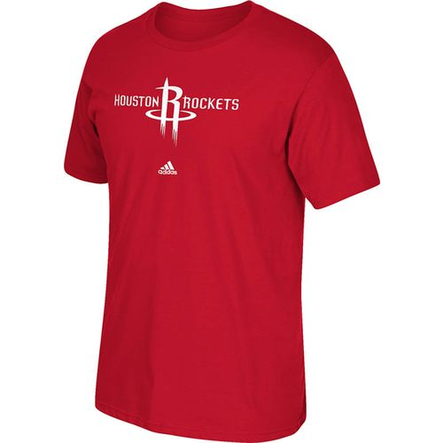 adidas Men's Houston Rockets Full Primary Logo T-shirt