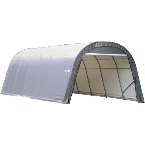ShelterLogic 12' x 28' Round Style Shelter - view number 1