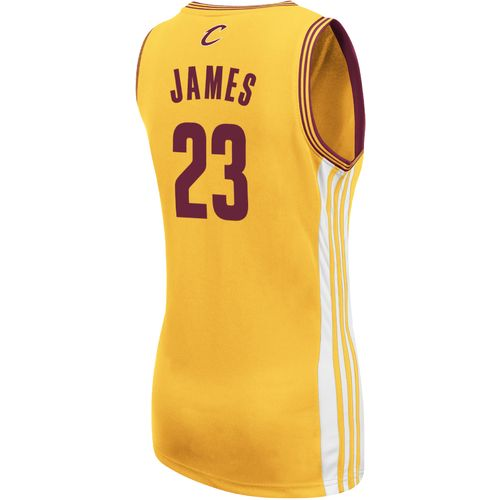 adidas Women's Cleveland Cavaliers LeBron James No. 23 Replica Jersey - view number 2