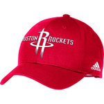 adidas Adults' Houston Rockets Structured Adjustable Cap