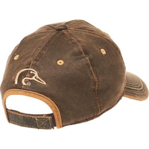 Ducks Unlimited Men's Hard Pigment Dyed Twill Cap - view number 2