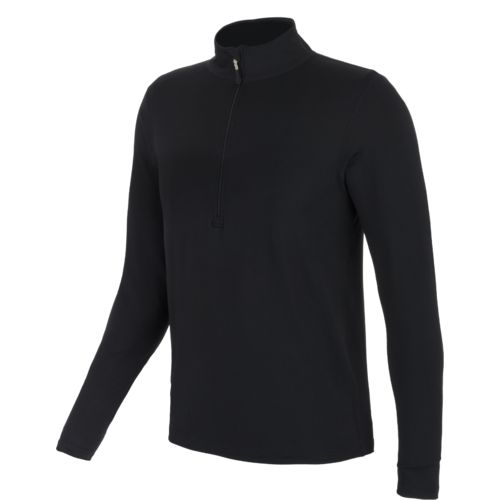 Magellan Outdoors™ Men's Thermal Stretch Baselayer 1/4 Zip Mock Neck Shirt
