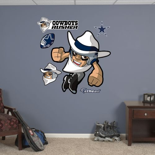 Fathead Dallas Cowboys Rusher Decals 6-Pack