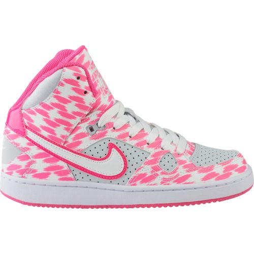 on sale 529b8 4a071 Nike Shoes For Girls High Tops Pink