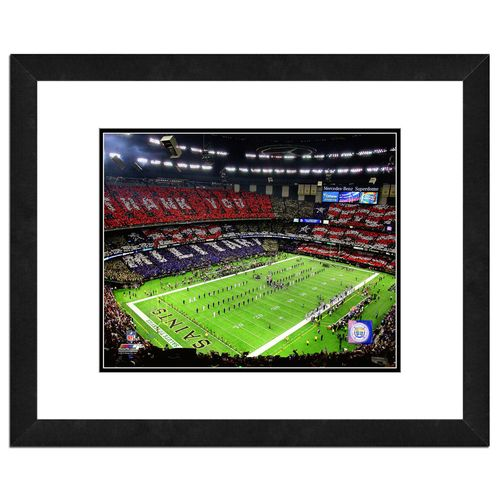 "Photo File New Orleans Saints Superdome 8"" x"