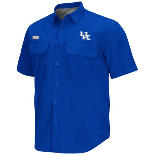 Chiliwear Men's University of Kentucky Swivel Short Sleeve Fishing Shirt