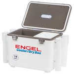 Engel 19 qt. Cooler/Dry Box with Rod Holders - view number 9