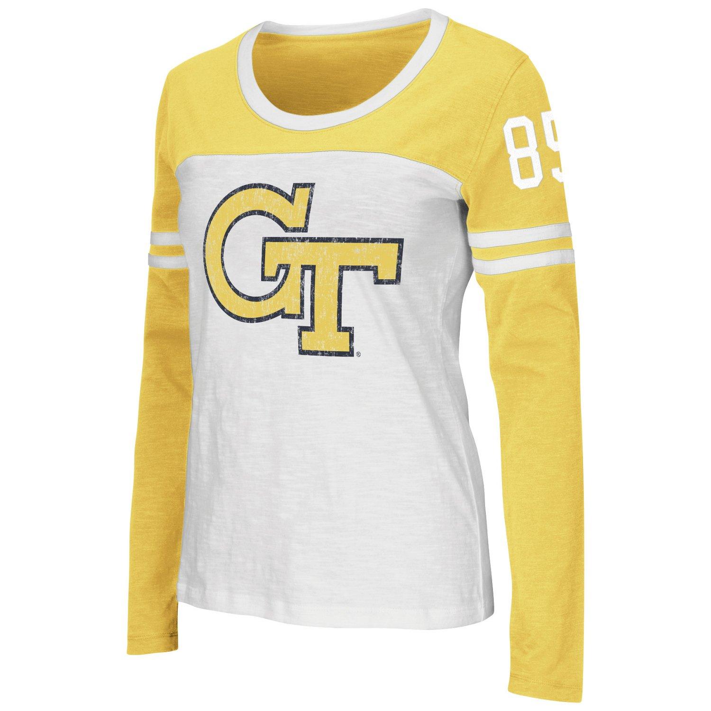 Colosseum Athletics Women's Georgia Tech Hornet Long Sleeve