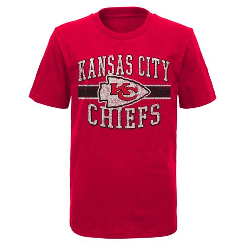 NFL Boys' Kansas City Chiefs Americana Honor Short Sleeve Slub T-shirt